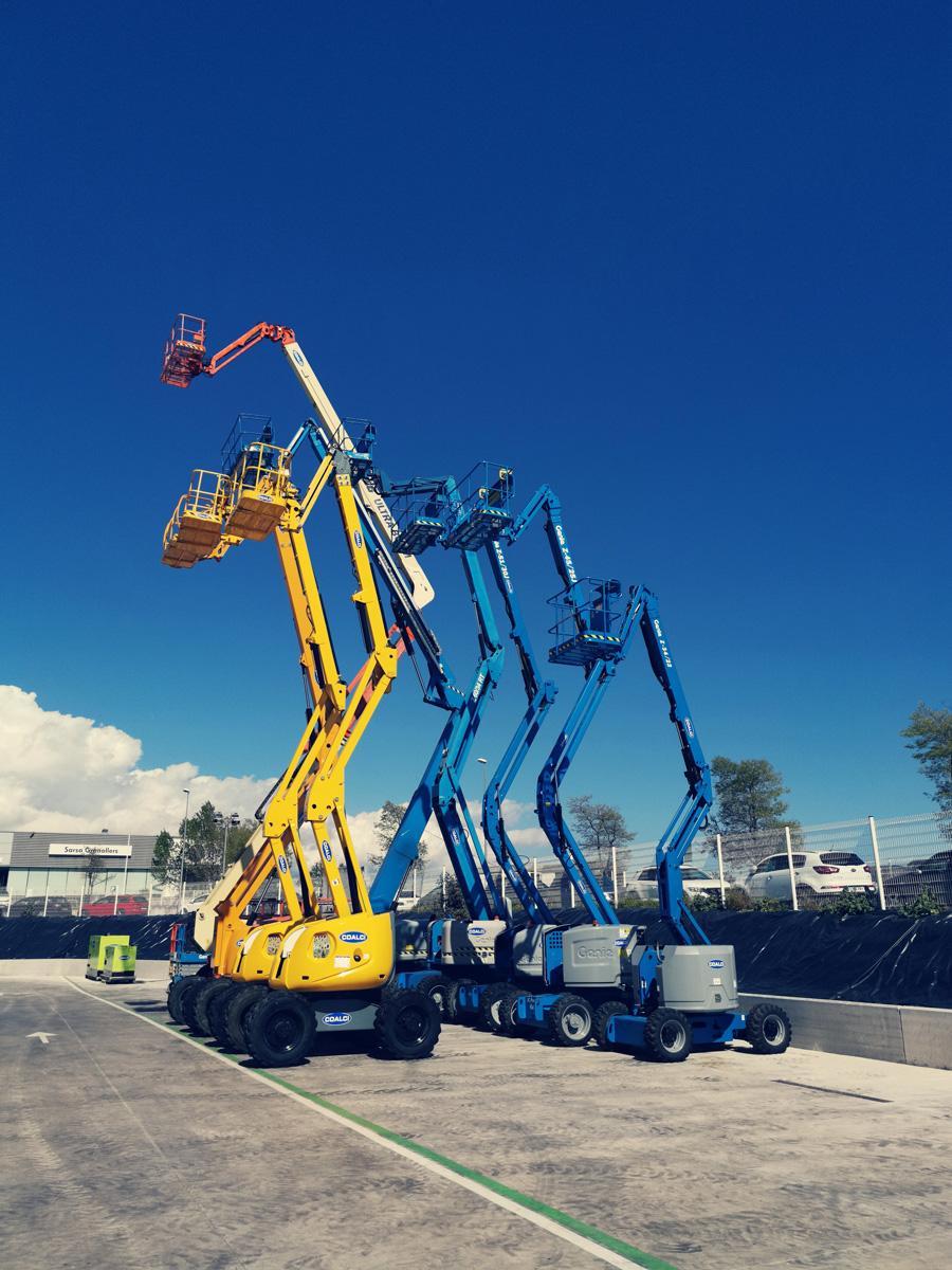 Coalci Alquiler de plataformas elevadoras, manipuladores y maquinaria para la construccion